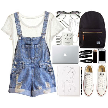 School Outfit Idea, Outfits Cute Without Over
