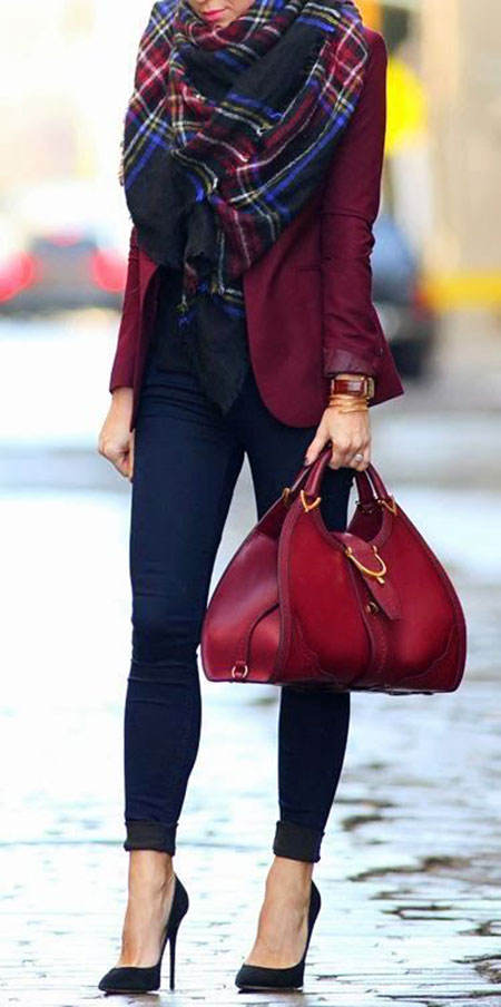 Classy Outfit for Women, Winter Outfits Casual Smart