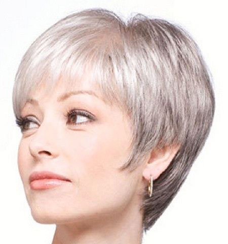 Hair Cut Short and Grey, Hair Short Pixie Grey