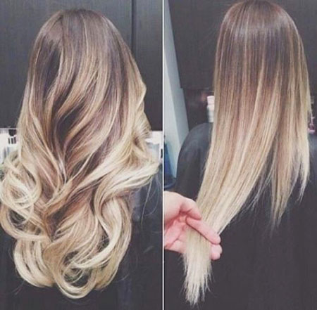 Highlights and Ombre Blonde Hair, Ombre Hair Blonde Color