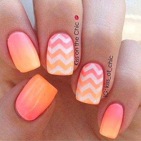 Summer Ombre Nail Design, Nail Summer Nails Designs