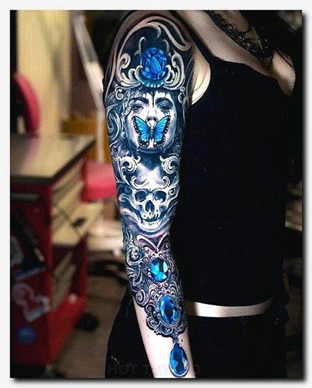 Crow Tattoo Sleeve Idea, Sleeve Tattoos Tattoo Maori