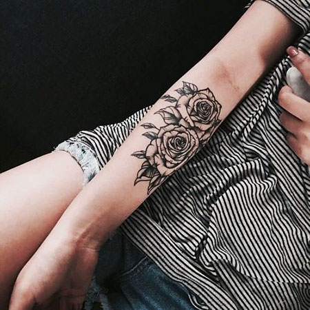 Best Tattoo on the Female Arm, Tattoos Tattoo Arm Rose