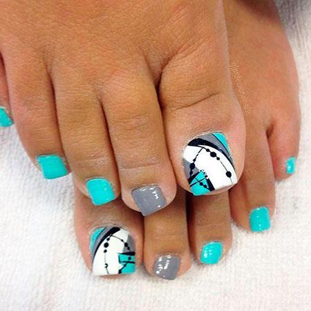 Summer Toe Nail Design Ideas, Nail Toe Ideas Summer