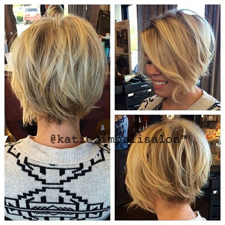Trendy Short Haircut, Bob Hair Pixie Short