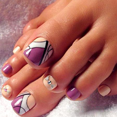 30-Abstract-Toe-Nail-Designs-405 - 30-Abstract-Toe-Nail-Designs-405 - Styles 2018