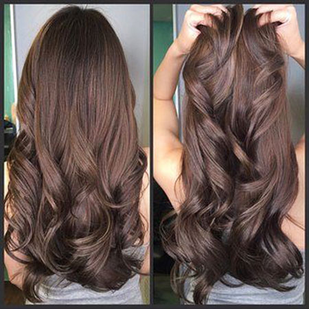 Chocolate Brown Long Hair Color, Hair Brown Chocolate Color