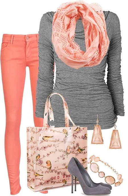 Color Combination for Ladies Outfit, Color All Some One