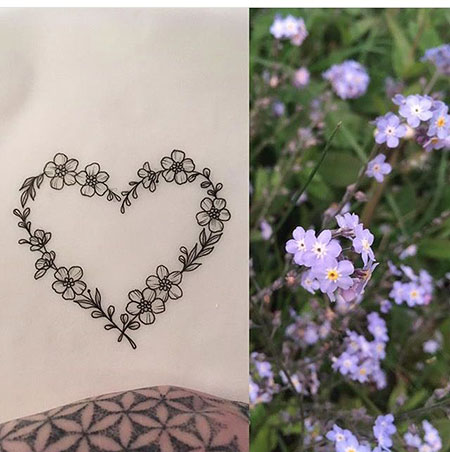 4-Forget-me-Not-Flower-Heart-Tattoo-237