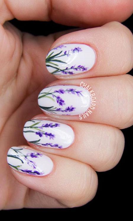 Spring Nail Art, Spring Nail Manicure Art