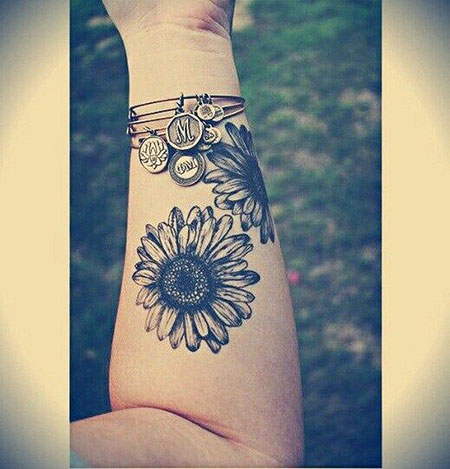 Sunflowers Tattoo, Forearm Tattoos Tattoo Cool