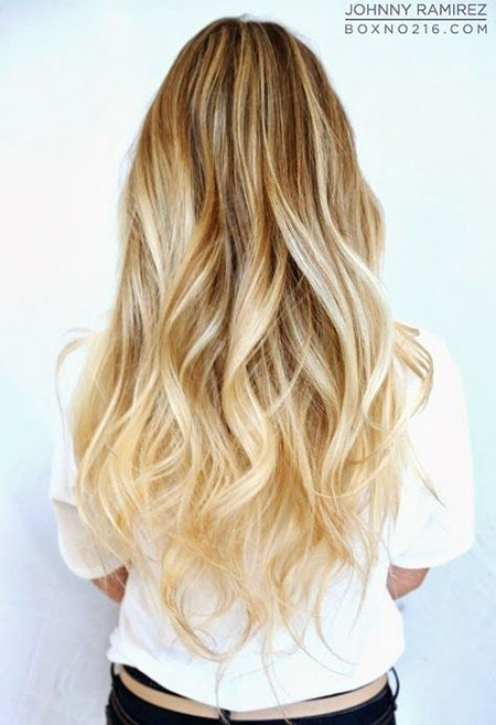 Cute Long Blonde Hair, Hair Blonde Ombre Long