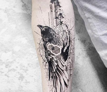 Cool Tattoo Crow, Tattoos Tattoo Crow Best