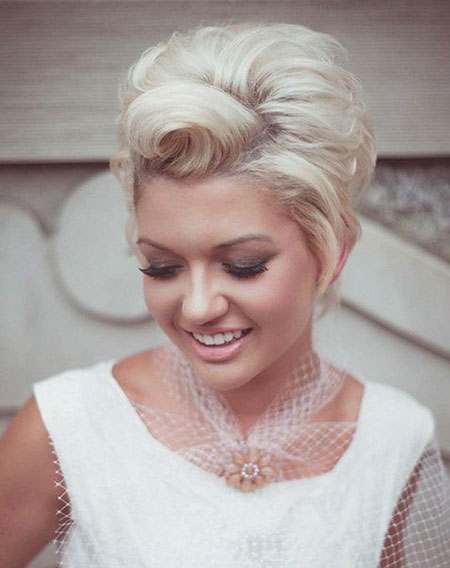 Vintage Pixie Style, Short Wedding Hair Vintage