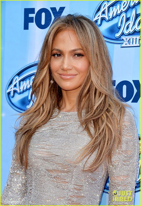 Jlo Layered Blonde Hair, Hair Color Blonde Jennifer