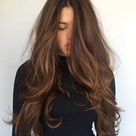 Mocha Brown Hair, Hair Color Long Colorful
