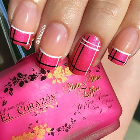 French Nail Art, Nail Polish Nails Awesome