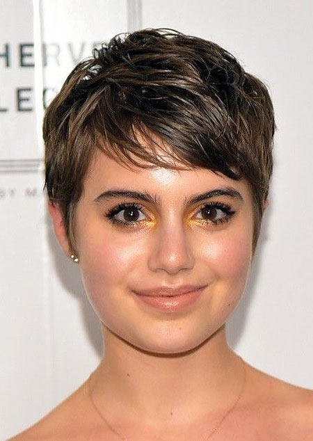 Pixie Haircut for Fine Hair, Short Pixie Hair Chubby