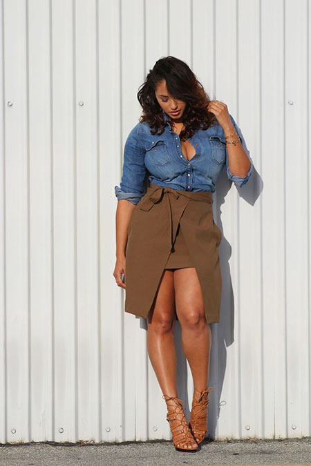 Cute Plus Size Combination for Women, Plus Fashion Some One