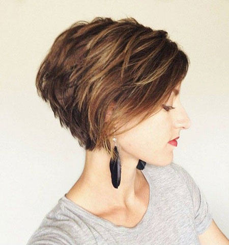 Short Hair Cut for Women, Short Women Layered Pixie
