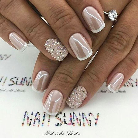 2018 Trend Wedding Nail, Nails Nail Wedding Designs