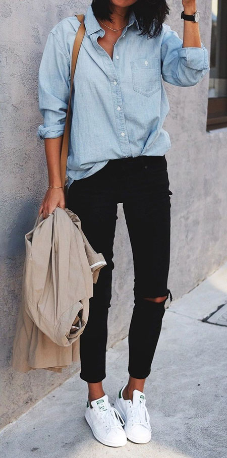 Chambray Shirts Style Summer
