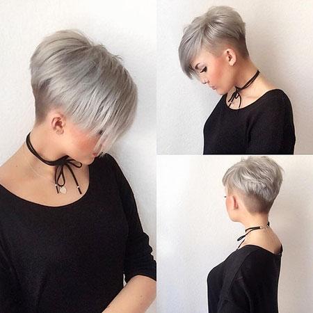 Pixie Hair Short Tousled