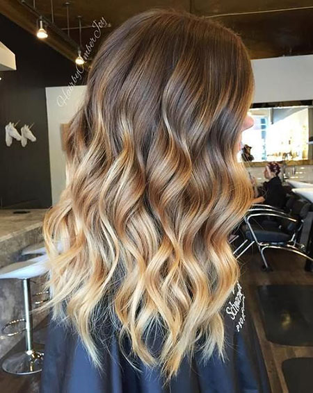 Balayage Hair Brown Blonde