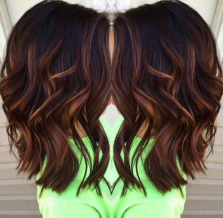 Hair Highlights Balayage Caramel