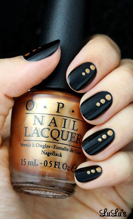 Nail Black Nails Las