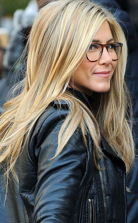 Hair Sunglasses Blonde Aniston