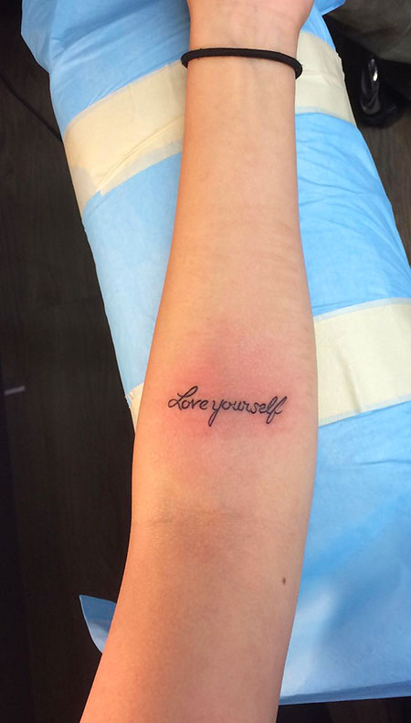 Tattoo Love Tattoos Forearm