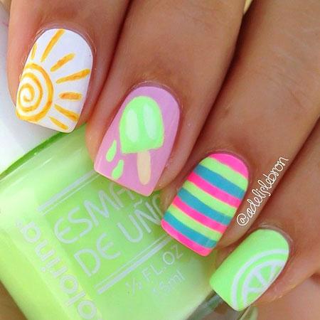 Nail Big Toe Color