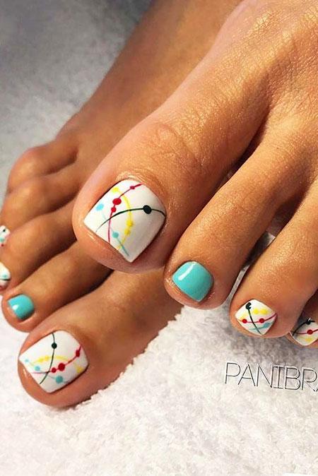 Nail Manicure Designs Toe