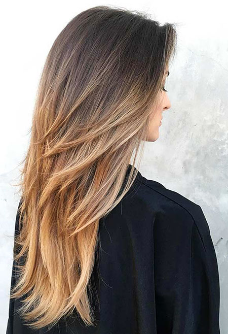 Hair Length Balayage Long