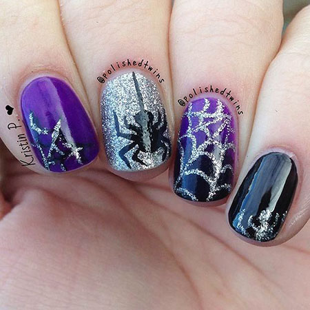 Nail Halloween Cute Ideas