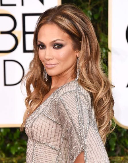 Hair Golden Jennifer Lopez