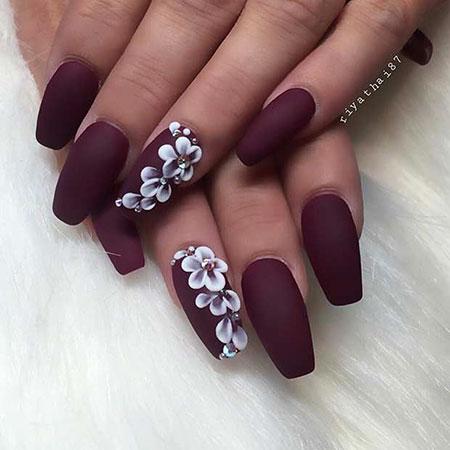 Nails Nail Matte Fall