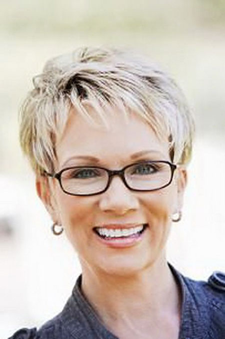 Short Hair Women 50