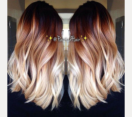 Hair Blonde Ombre Balayage