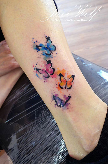 Tattoo Butterfly Watercolor Tattoos