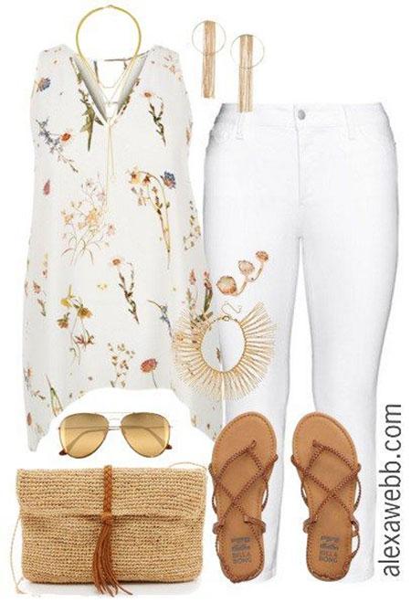 Fashion Outfits Plus White