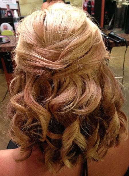 Hair Length Wedding Shoulder