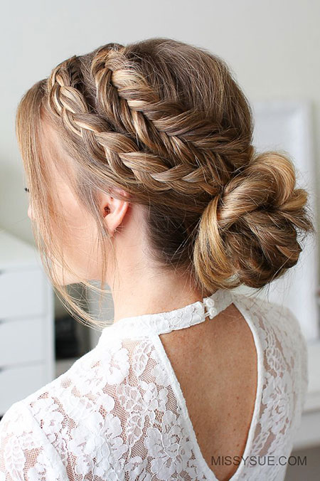 Hair Braid Updo Hairtyles