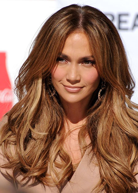 Hair Brown Jennifer Lopez