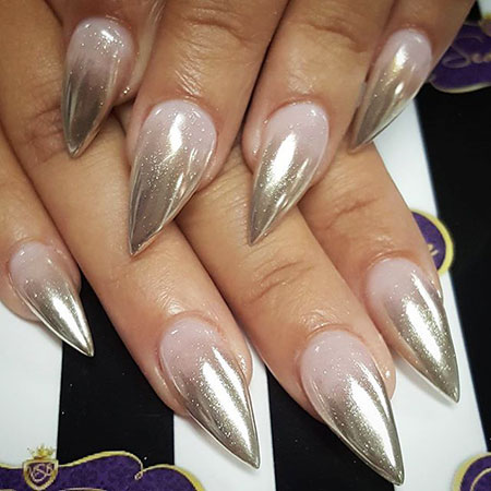 Nails Stiletto Nail Acrylic