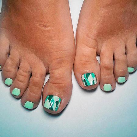 Nail Toe Art Pedicure