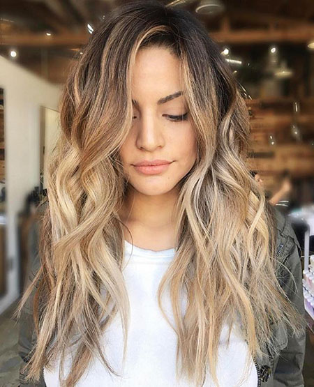 Hair Balayage Blonde Brown