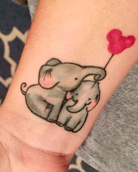 Elephant Tattoo Tattoos Son