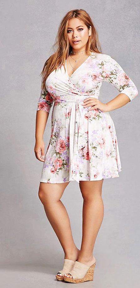Floweral Fashion Romper Plus
